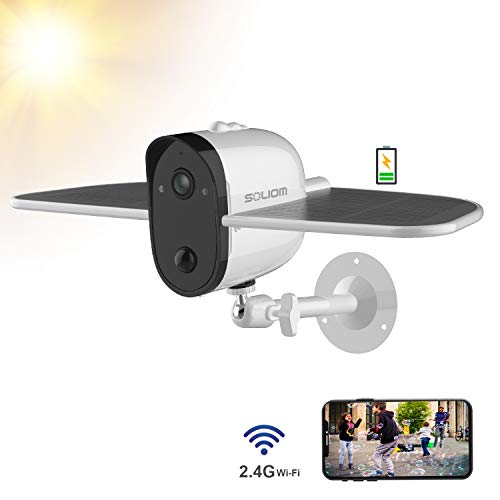 Outdoor Solar Battery Security Camera