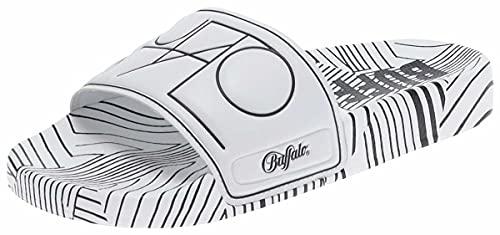 Buffalo RONA BN16110541 - Zapatillas de deporte, color blanco y negro, color, talla 38 EU