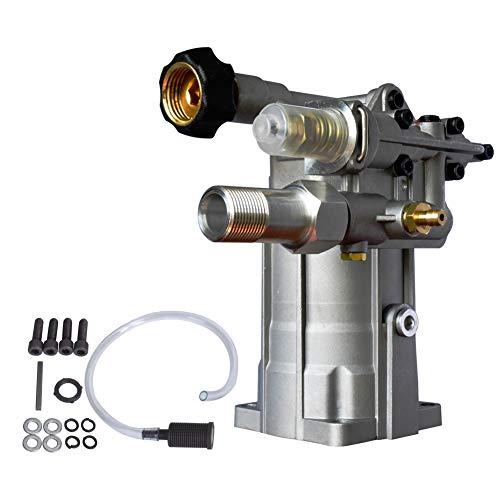 SurmountWay 3000 PSI Pressure Washer Pump Horizontal 3/4' Shaft Replacement Power Washer Pump 2.3 GPM for 308653052,308653006, 202274GS(Horizontal)