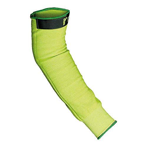JS RJ-ZARBA45 - Protector de antebrazo (45 cm, 10 unidades), color verde