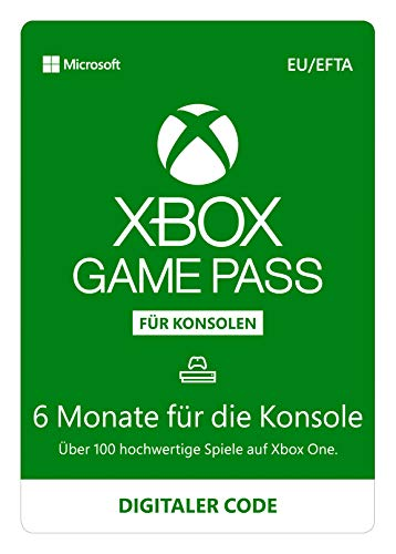 Xbox Game Pass | 6 Monate Mitgliedschaft | Xbox One - Download Code