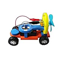 JVSISM 風力発電電動レーシングモデルキットのおもちゃ 男の子用科学トレーニング 子供のための子供実験手作りアセンブリ物理玩具ギフト