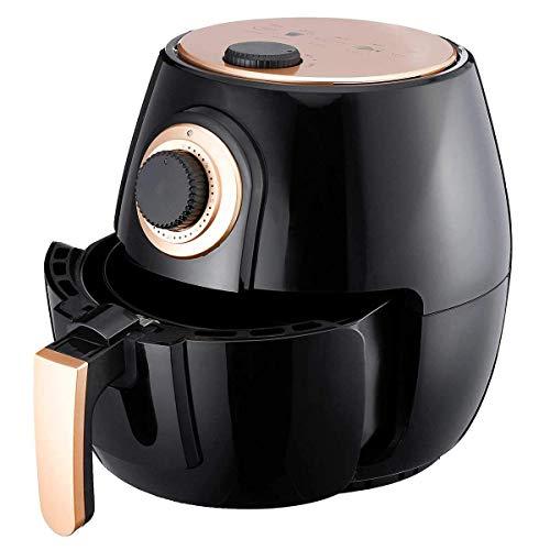 4L freidora aire, sin aceite saludable baja en grasa for cocinar de aire caliente de la freidora eléctrica con la Regulación de la Temperatura y 30 los de temporización de apagado automático, 1300W, N