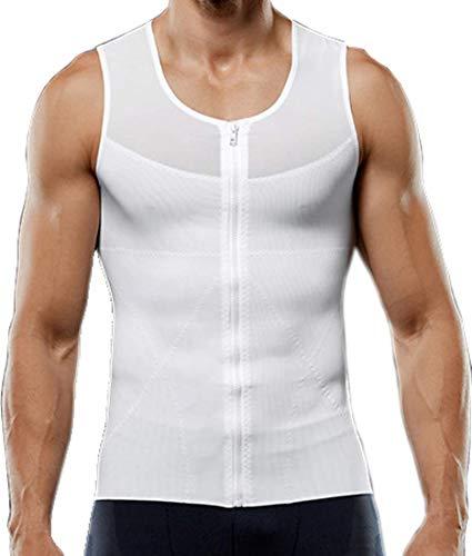i-select - Camiseta de manga corta para hombre, diseño con texto en inglés, color blanco, tamaño EU:L/asiatiques XL