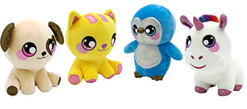 Squeezamals BH31857.4300 A Large Slow Rise, knuffelig, zacht, squshie, zoete geur, knuffeldier