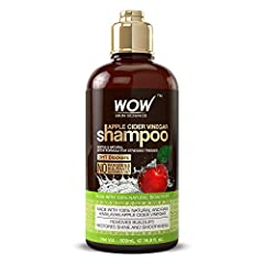 BEAUTIFUL, STRONG HAIR: WOW Apple Cider Vinegar Shampoo is able to balance the pH level that closely resembles human hair to help obtain the silkiest, softest, glossiest hair. Use twice a week to be less prone to breakage, split ends, and thinning ha...