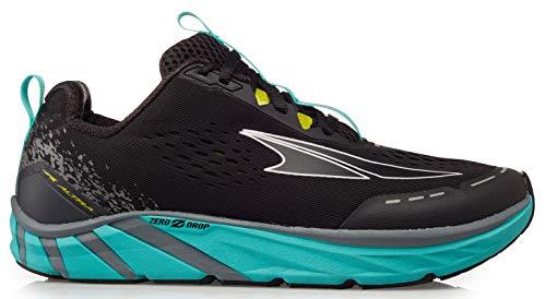 ALTRA Women's ALW1937F Torin 4 Road Running Shoe, Black/Teal - 5.5 M US