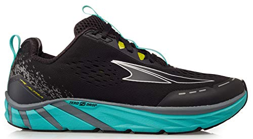 ALTRA Women's Torin 4 Road Running Shoe, Black/Teal - 11 M US
