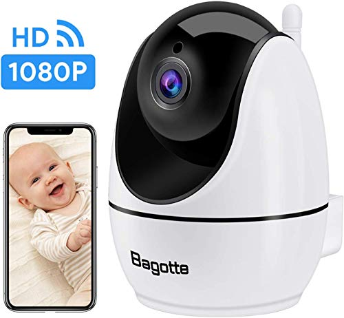 Cheap WiFi Camera, IP Camera Bagotte 2020 New Upgraded 1080P FHD Indoor Security Camera 2-Way Audio,...