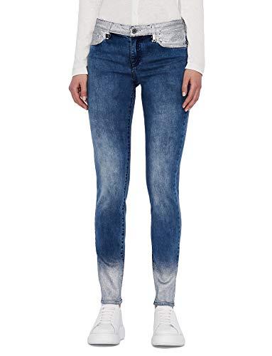 ARMANI EXCHANGE Skinny Fit Jeans, Indigo Denim, 32 Donna