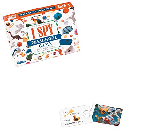 University Games I Spy préscolaire Jeu-