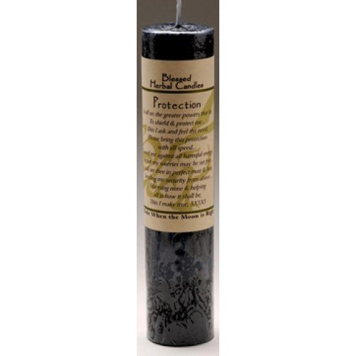 Ritual Magick Blessed Herbal Candle - Protection
