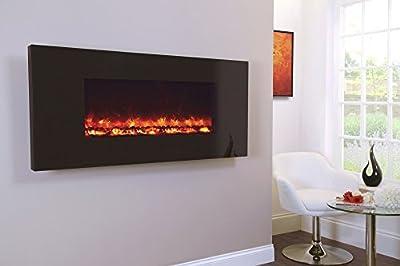 Celsi Designer Fire - Piano Black 1100