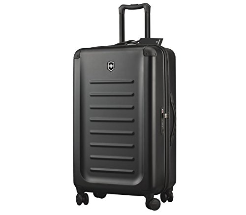 Victorinox Spectra 2.0 Hardside Spinner Suitcase, Black
