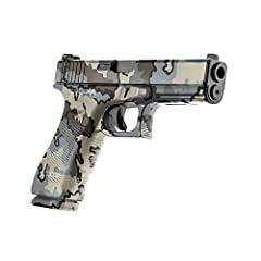 FITS ANY HANDGUN – Pistol Skins conform to any shape. Designed to fit any semi-automatic pistols with a barrel length of eight inches or less. Also can be installed on revolvers, airsoft, and paintball guns, too! Comes with two 4.75 inch by 8 inch fr...