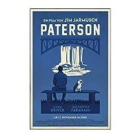 Ipea パターソン映画ジムジャームッシュキャンバス壁アートポスター絵画写真壁の装飾部屋の装飾リビングルームの装飾-20X30Inフレームなし1個