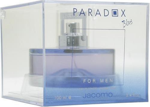 Paradox Blue By Jacomo For Men, Eau De Toilette Spray, 3.4-Ounce Bottle