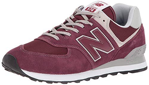 New Balance Herren 574 Core Sneaker, Rot (Burgundy), 43 EU