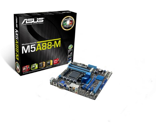 ASUS M5A88-M AM3+ AMD 880G HDMI SATA 6Gb/s USB 3.0 Micro ATX AMD Motherboard