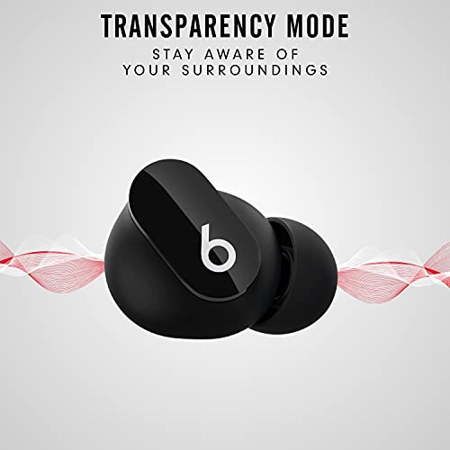 New Beats Studio Buds – True Wireless Noise CancellingEarbuds– Compatible with Apple & Android, Built-in Microphone, IPX4 Rating, Sweat Resistant Earphones, Class 1 BluetoothHeadphones - Black