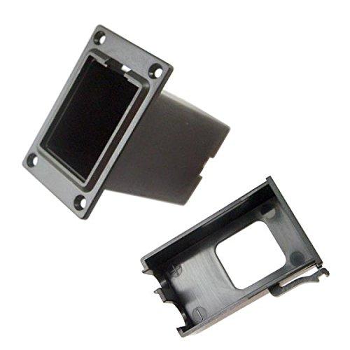 9V Batterie Kasten Batteriehalter Batterie -Box für Gitarre Bass Ukulele - 5.7x3.15x5.45cm