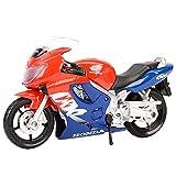 Maquetas de Coches 1:18 Cbr600f Vehículos Estáticos Fundidos A Presión Coleccionables Pasatiempos Modelo De Motocicleta Juguetes
