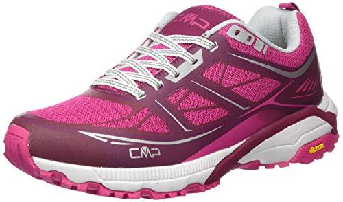 CMP Campagnolo Hapsu WMN Nordic Walking Shoe, Chaussure de Marche Femme, BOUGANVILLE-Goji, 41 EU