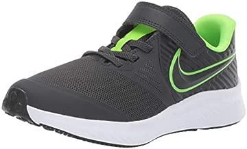 Nike Unisex-Child Star Runner 2 (PSV) Sneaker, Anthracite/Electric Green-White, 2Y Child US Little Kid