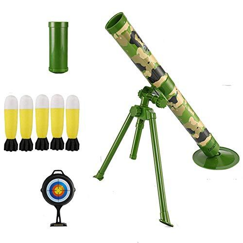 AFF Wasser Bullets Gewehr-Spielzeug Blaster Spielzeug für Jungen Kunststoff Sniper Soft-Paintball CS Spiele im Freien für Kinder Waffe Spielzeug Mörtel werfen Cartridge,Grün