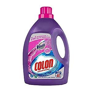 Colon Detergente de Ropa para Lavadora Líquido con Vanish Acción Quitamanchas – 40 dosis