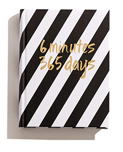 6 minutes 365 days – The Book You Write Yourself – Diario de una página por día (negro y blanco)