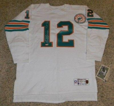 Signed Bob Griese Jersey Autographed : image