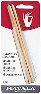 Manicure Sticks 5 Pices Card By Mavala