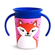 Munchkin Miracle 360˚ Trainer Cup, 6 Ounce, Fox