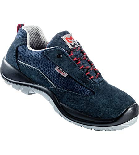 Light II-zapatos de seguridad S1P, color azul, Azul (azul), 39