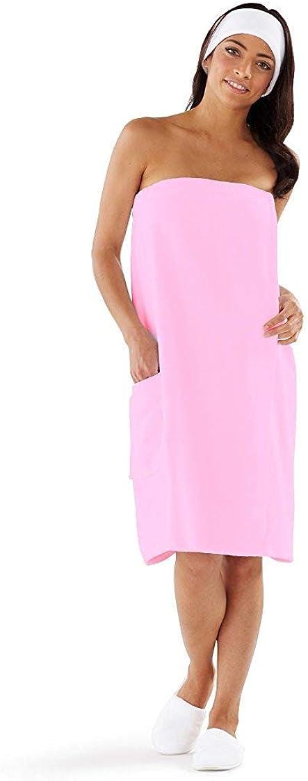 Boca Terry Womens Spa Wrap - Bath G Cotton 5 ☆ popular Shower 100% and Phoenix Mall