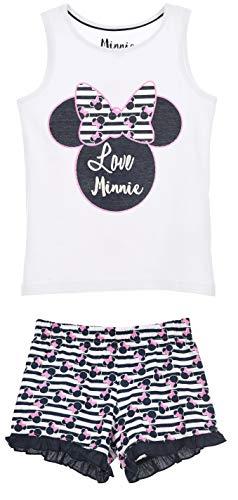 Minnie Mouse Mädchen Kurz Pyjama Schlafanzug