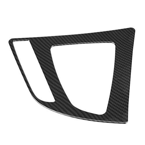 Embellecedor de cambio de marchas, Yctze Control central de estilo de fibra de carbono Reemplazo de embellecedor de cubierta de panel de cambio de marchas para Serie 3 F30 GT F34