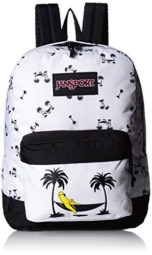 JanSport Black Label Superbreak Backpack - Lightweight School Bag | Banana Hammock Print
