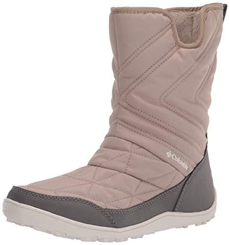 Columbia Women's Minx Slip III Snow Boot, Oxford Tan/Fawn, 9