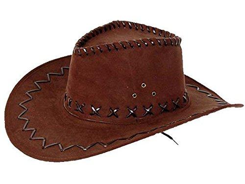 COWBOY Chapeau Western Australien Texas chapeau marron 05