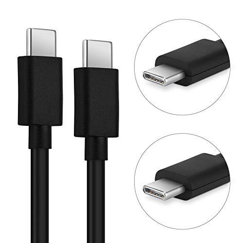CELLONIC® Cable USB Datos 1m Compatible con Fairphone 3 Cable de Carga USB C Type C a USB C 3.0 3A (PD 60W) Negro conexión USB PVC