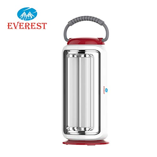 Everest Rechargeable 4 High Bright LED Tubes Emergency Light - Red Color