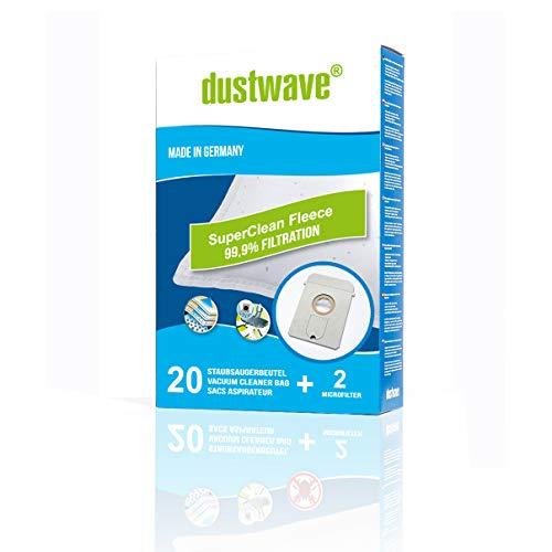 dustwave® - 10 bolsas para aspiradora AEG - Vampyr 761 i (fabricadas en Alemania, incluye microfiltro)