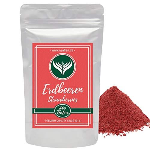 Azafran Erdbeerpulver, Erdbeeren gefriergetrocknet gemahlen 250g