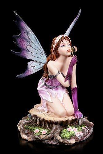 Elfen Figur - Loreley macht Seifenblase | Fee Fairy Fantasy Statue