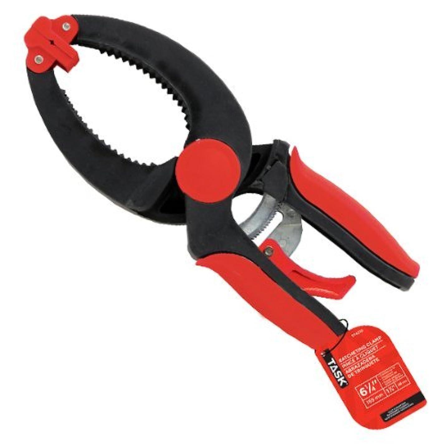 透けて見えるバナー信念Task Tools T74215 8-Inch Ratcheting Clamp [並行輸入品]