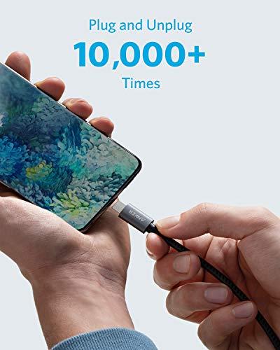 Anker Nylon USB-C auf HDMI Kabel, 180cm, 4K 60Hz Adapter Kabel für MacBook Pro 2020, iPad Pro 2020, Galaxy S20/ S10, Dell XPS 13/15, und mehr, für Homeoffice