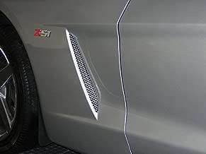 C6 Corvette Stainless Steel Side Vent Mesh - Stainless Steel