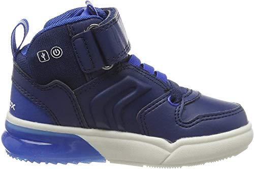 Geox Jungen J GRAYJAY Boy C Hohe Sneaker, Blau (Navy/Royal C4226), 28 EU